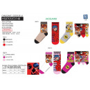 LADY BUG - pack 3 socks 70% cotton 18% poly