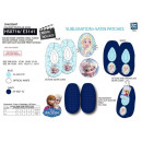 wholesale Licensed Products: frozen - 100% elastic slippers polyester