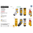 KING LION - pack 3 socks 70% cotton 18% poly