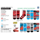 wholesale Socks and tights: Cars 3 - pack 2 socks 70% cotton 18% polyest