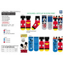 Mickey - pack 2 socks 70% cotton 18% polyester