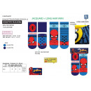 Spiderman - Pack 2 Socken 99% Polyester / 1%
