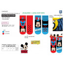 wholesale Socks and tights: Mickey - pack 2 socks 99% polyester / 1% ela