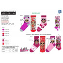 LOL SURPRISE - Pack 3 Socken 70% Baumwolle 18% p