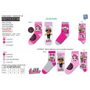 LOL SURPRISE - pack 3 socks 70% cotton 18% p