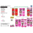 LOL SURPRISE - pack 2 socks 70% cotton 18% p
