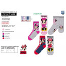 Minnie - pack 5 socks 70% cotton 18% polyest