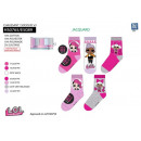 LOL SURPRISE - pack of 5 socks 70% cotton 18% p