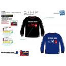 Spiderman - Langarm T-Shirt 100% Baumwolle