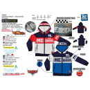 CARS - sweat capuche zippe 65% polyester / 35% c