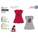 LADY BUG - short sleeve dress 65% polyester / 35