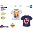 Fireman Sam - 100% coton Short Cuff T-Shirt