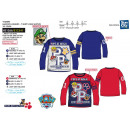 grossiste Articles sous Licence: PAW PATROL - t-shirt manches longues 100% coton