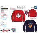 Großhandel Lizenzartikel: Paw Patrol - Sweatshirt aus 100% Polyester