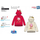 PEPPA PIG - sweat capuche 100% polyester
