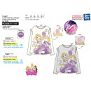Princess - Pailletten 100% Langarm T-Shirt