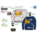 ROI LION - sweat kangourou 65% polyester / 35% cot