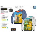 ROI LION - sweat capuche zippe 100% polyester
