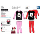 Minnie - long coral pajamas 100% polyester