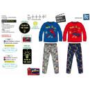 Spiderman - pijama largo fosforescente 100% algodó