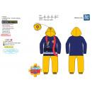 Fireman Sam - 100% polyester jumpsuit