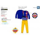 Fireman Sam - pijama largo 100% algodón