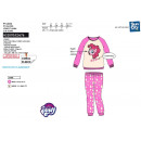 My Little Pony - long coral pajamas 100% polyester