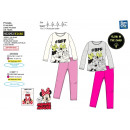 Minnie - pijama largo fosforescente 100% algodón