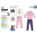FROZEN - pyjama long coral 100% polyester
