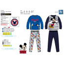 Mickey - Pijama largo 100% algodón