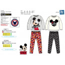 grossiste Articles sous Licence: MICKEY - pyjama long 100% coton