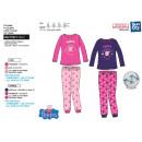 Peppa Pig - 100% polyester long coral pajamas