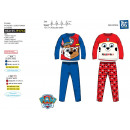 Paw Patrol - pijama largo 100% algodón