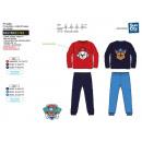 Paw Patrol - long coral pajamas 100% polyester