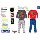Cars - pijamas largos fosforescentes 100% algodón