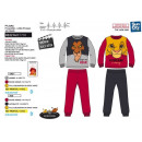 ROI LION - long fleece pajamas 100% polyester