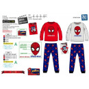 SPIDERMAN - pyjama long polaire 100% polyester