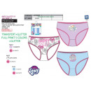 My Little Pony - box of 3 panties 100% coton