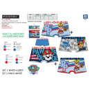 Paw Patrol - lot 2 boxers 95% cotton / 5% elasthan