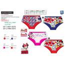 wholesale Underwear: Minnie - set of 2 shorty prints 95% cotton /