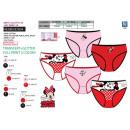 wholesale Underwear: Minnie - kit of 5 panties 100% coto