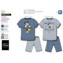 Mickey - T-Shirt pyjacourt e cotone 100%