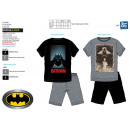 Batman - pyjacourt T-Shirt & sh 100% coton