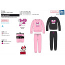 wholesale Licensed Products: Minnie - long coral pajamas 100% polyester
