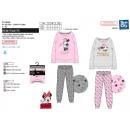 Minnie - pijamas largos 65% poliéster / 35% algodó
