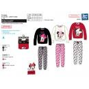 MINNIE - pyjama long coral 100% polyester