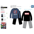 Avengers CLASSIC - Pijamas largos de coral 100% po