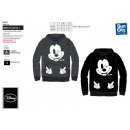 MICKEY - sweat kangourou 65% polyester / 35% cotto