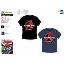 wholesale Children's and baby clothing: Avengers CLASSIC - T-Shirt short cuff 100%