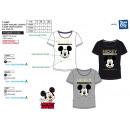Mickey - Kurzes T-Shirt 100% Baumwolle